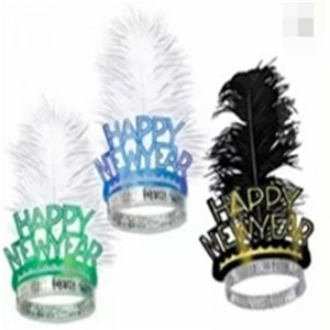 Tiaras Feather Happy New Years Eve Kits