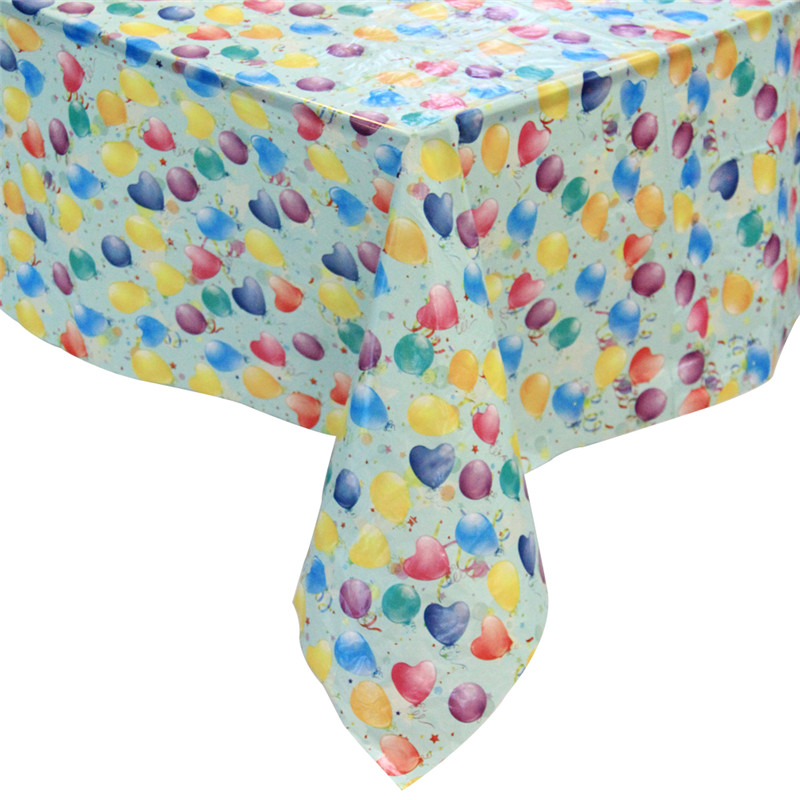 Valentine\ s Day Plastic Party Tableekloths Disponible and Rectangular Tableconvers